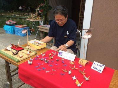 缶や銅の折り紙鶴.jpg